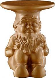 Stołek-stolik Gnomes Napoleon złoty
