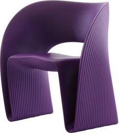 Fotel Raviolo fioletowy