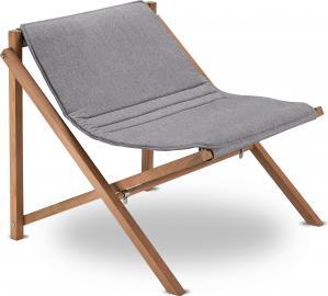 Krzesło Aito Lounge szare