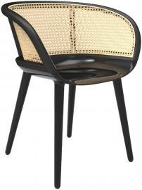 Krzesło Cyborg Vienna czarne