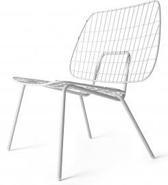 Krzesło WM String Lounge Chair białe