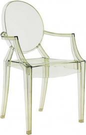 Krzesło Louis Ghost kryształowa zieleń