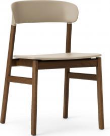 Krzesło Herit ciemny dąb piaskowe