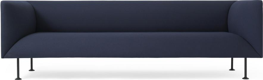 Sofa trzyosobowa Godot Royal Blue