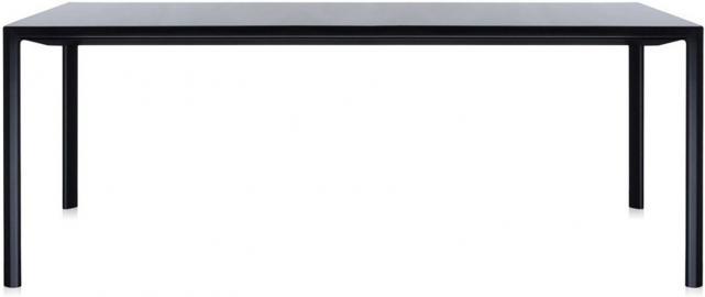 Stół rozkładany Zoom czarny 85 x 160 cm