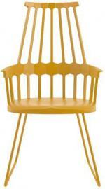 Krzesło Comback sanki żółte