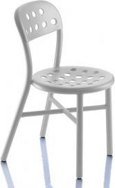 Krzesło Pipe białe