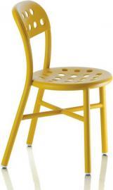 Krzesło Pipe musztardowe