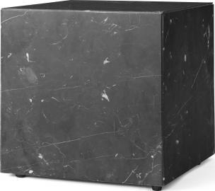 Postument marmurowy Menu sześcian czarny marmur