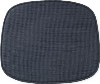 Poduszka na krzesło Form niebieska