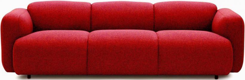 Sofa Swell czerwona