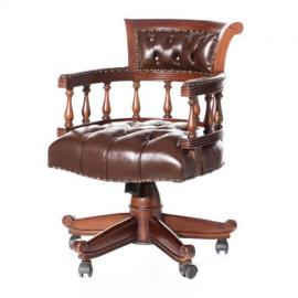 Dekoria Fotel obrotowy Sherlock