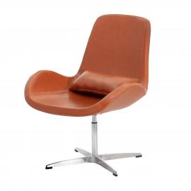 Dekoria Fotel obrotowy Stilo brown