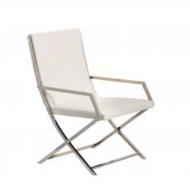Dekoria Krzesło Santori 56x56x88cm white