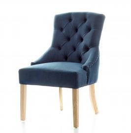 Dekoria Krzesło Victoria Navy Blue