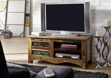 TV-Board Altholz 110x50x50 mehrfarbig lackiert NATURE OF SPIRIT #20