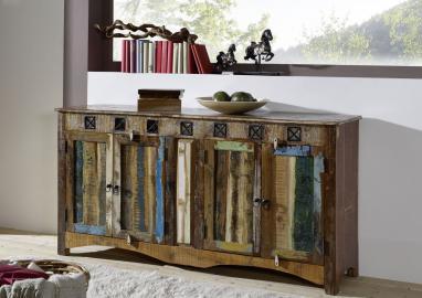 Sideboard Altholz 178x42x88 mehrfarbig lackiert SPIRIT #40