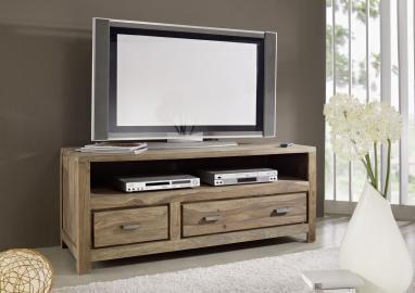 TV-Board Sheesham 150x55x60 braun geölt BUDDHA #118