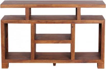 Sheesham Sideboard & TV Schrank ´´Orient´´ Massivholz 120x40 cm braun
