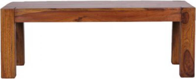 Sheesham Couchtisch ´´Kimal´´ Massivholz 110x60 cm braun