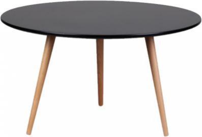 Couchtisch ´´Kopenhagen´´ Ø80 cm schwarz