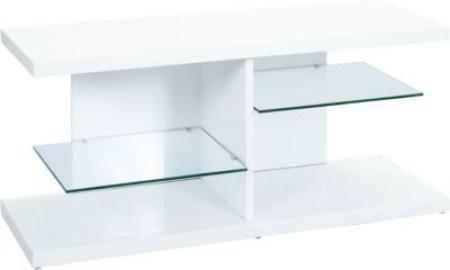 Hochglanz TV-Board ´´Space´´ 120x40 cm weiß