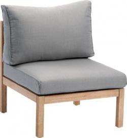 Lounge Sofa Mittelteil hellgrau