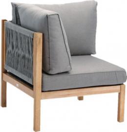 Lounge Sofa Eckteil hellgrau