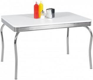 Esstisch ´´American Diner´´ 120x80x76 cm weiß