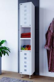 Badschrank ´´Tarola´´ 180x30x30 cm weiß