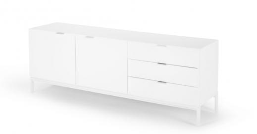 Marcell Sideboard, Weiss - MADE.com