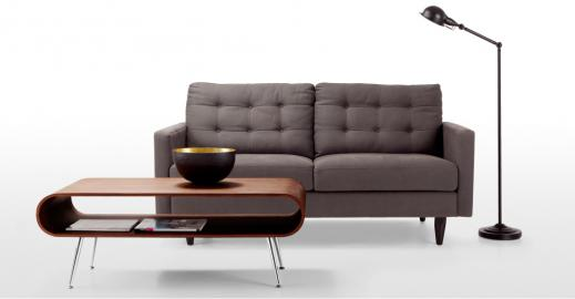 Hooper Couchtisch, Walnuss - MADE.com