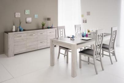 Esstisch mit Sideboard