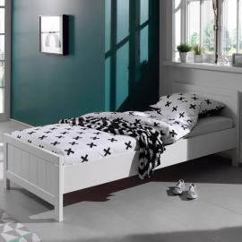 Jugendbett Einzelbett CANNES-12 weiß lackiert, 90 x 200 cm
