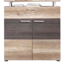 Kommode POLO von Trendteam Eiche Monument Oak / Touchwood