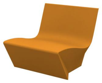 Kami Ichi Lounge Sessel - Slide - Orange