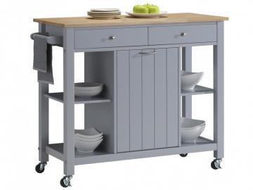 Küchenwagen Servierwagen Holz Haley