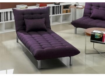 Chaiselongue Schlafsofa Stoff Hornet - Violett