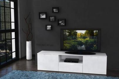 TV-Unterschrank Sienna Weiß