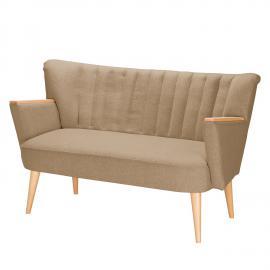 Sofa Bauro (2-Sitzer) Filz - Warmes Beige