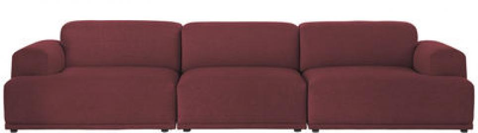 Connect Sofa / 3 Module - L 326 cm - Muuto - Bordeaux