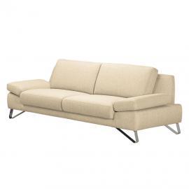 Sofa Silvano (2,5-Sitzer) Webstoff Beige