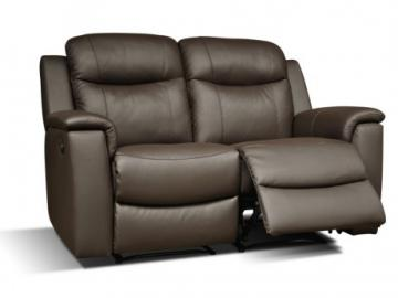 Relaxsofa Leder 2-Sitzer Evasion - Braun