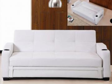 Schlafsofa Klappsofa Mirella - Weiß