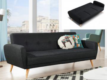 3-Sitzer-Sofa Stoff mit Bettfunktion Maelo - Anthrazit