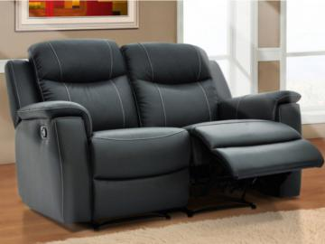 Relaxsofa Leder 2-Sitzer Evasion - Anthrazit