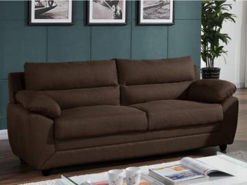 Sofa 3-Sitzer MANOA Stoff - Braun