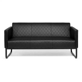 Aruba Black | 3-Sitzer - Lounge Sofa