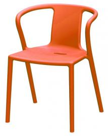 Air-Armchair Stapelbarer Sessel - Magis - Orange