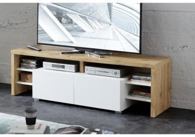 TV-Lowboard TORINO von Innostyle Eiche Altholz / Weiss